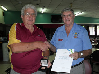 Bob Davis wins Australia Day RSL Honours