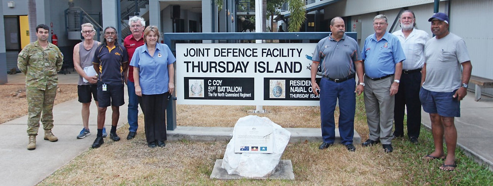 Far North District RSL visit Thursday Island to plan next steps for RSL Chapter across Torres Strait
