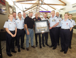 38 Sqn presents to Cooktown RSL