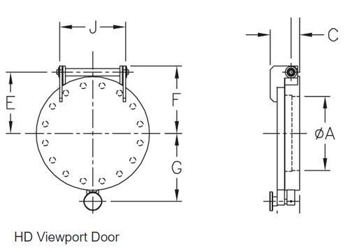 Fast Entry Air Lock Door