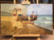 Restoring a 19th century italian paintin