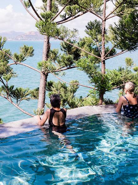Luxury retreat accommodation