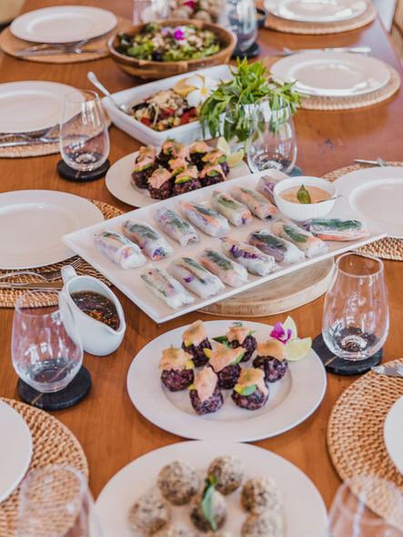 Retreat food by Bloom Kitchen