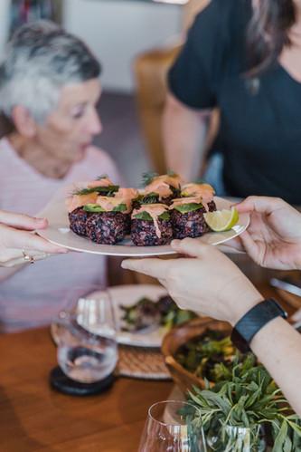 retreat health food
