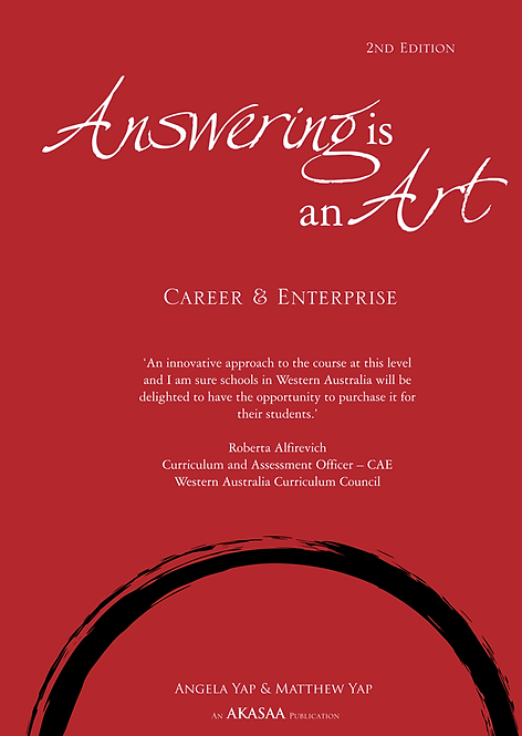 ANSWERING IS AN ART: CAREER & ENTERPRISE