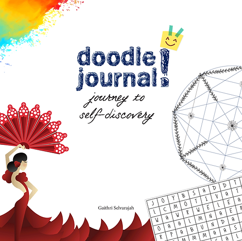 DOODLE JOURNAL: JOURNEY TO SELF-DISCOVERY