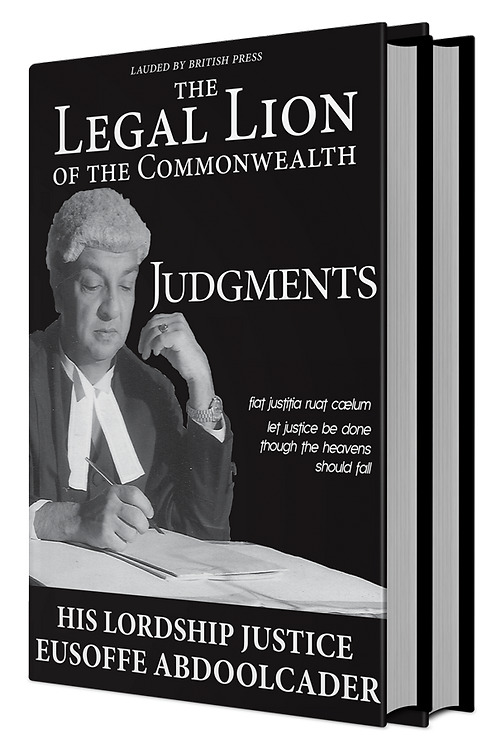 THE LEGAL LION OF THE COMMONWEALTH: JUDGMENTS