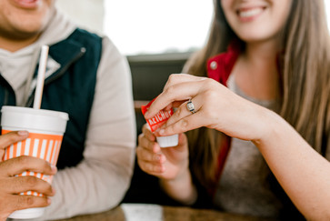 Whataburger Couples Session