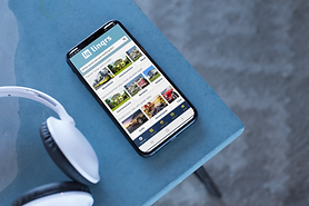 podcast-mockup-featuring-an-iphone-x-on-