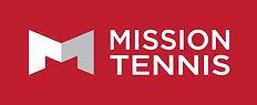 Mission tennis silver sur fond rouge-pag