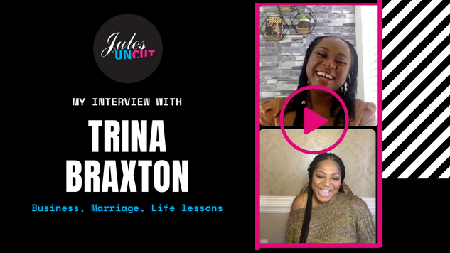 Live with Entrepreneurial Trina Braxton - Discussing Entrepreneurship, Marriage, and Life Lessons.
