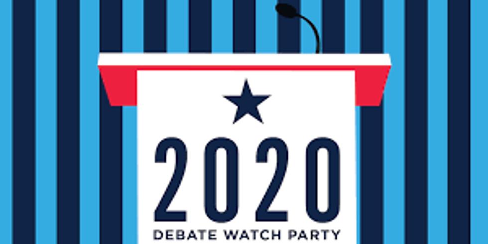 2nd Presidential Debate Watch Party