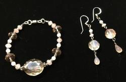 Crystal Glass, Chalcedony, Opal