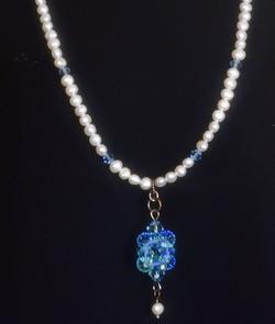 Pearl, Austrian crystal glass