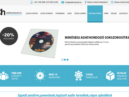 www.adathordozok.hu