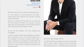 BECOME Magazine: featuring Derek Chew
