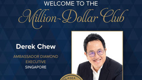 FIRST ASEA Million Dollar Club in South East Asia