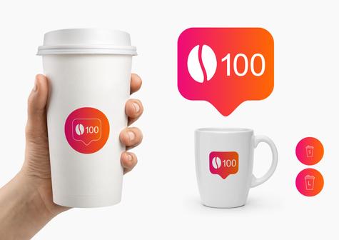 Лого, брендинг сети кофеен