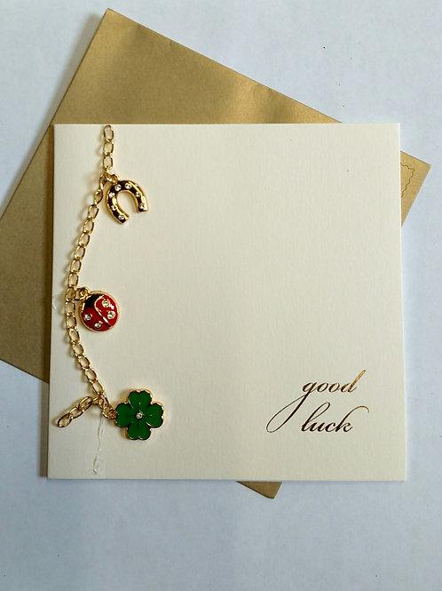 Card - Good Luck