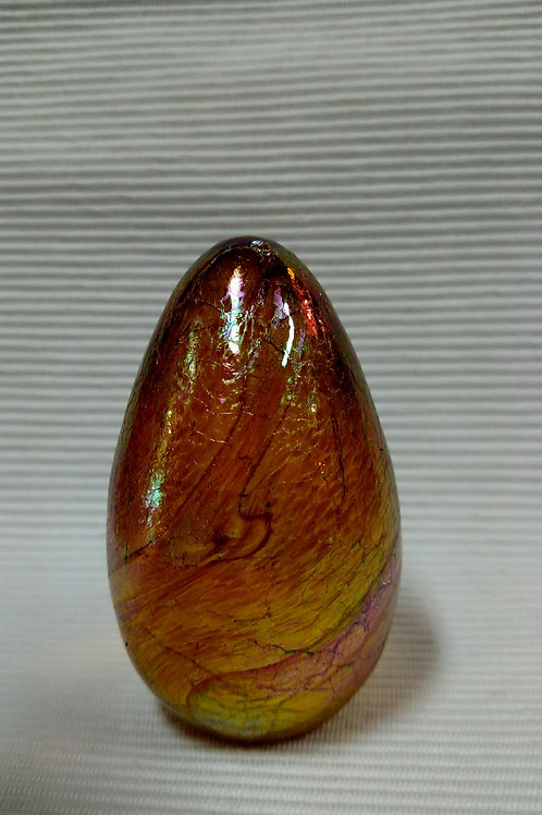 Collectorable Draco Gold Dragon Egg Paperweight