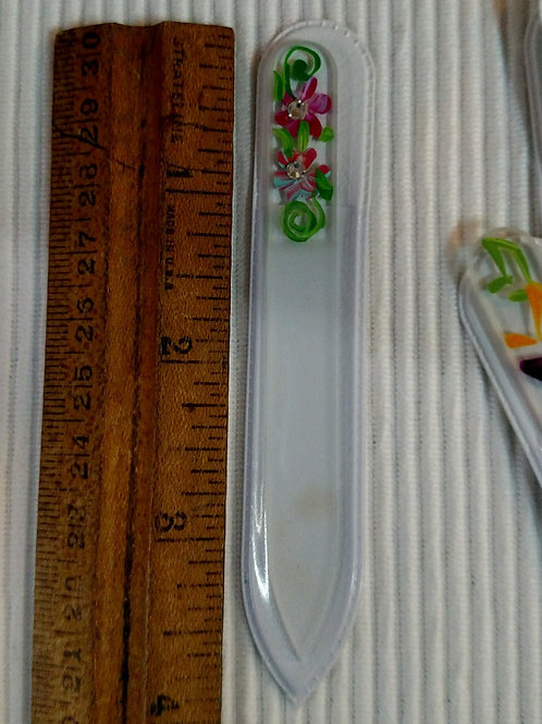 Small Glass Nail Files