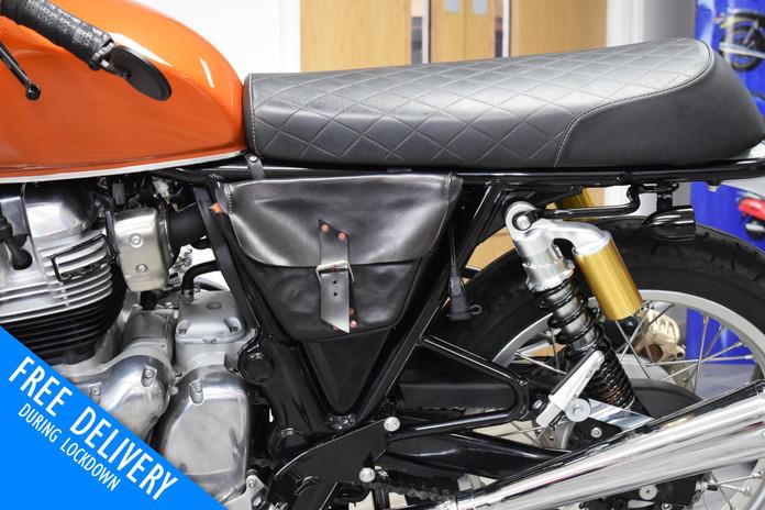 Used royal enfield interceptor for sale northampton bike sanctuary saddle bag.jpg