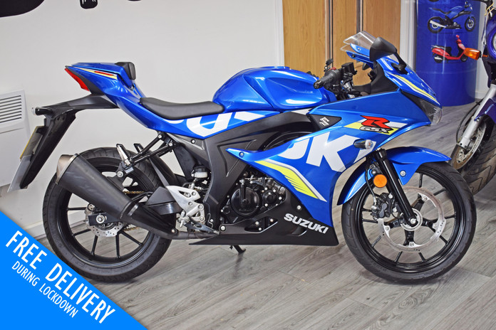 Used suzuki gsxr125 for sale northampton