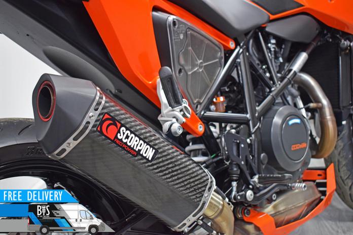 Used KTM 690 Duke for sale northampton bike sanctuary scorpion red power exhaust.jpg
