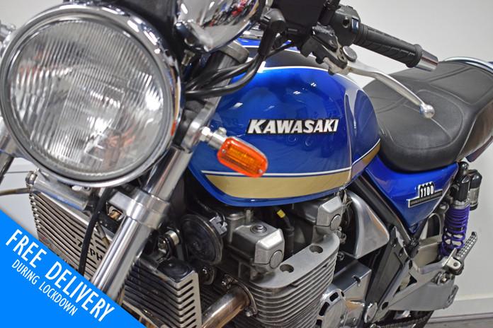 used kawasaki zxr1100 zephyr blue for sa