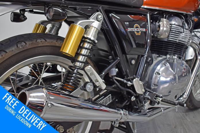 Used royal enfield interceptor for sale northampton bike sanctuary exhausts.jpg