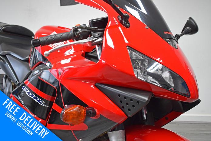 Used Honda CBR600RR Red For Sale Northampton Bike Sanctuary front right headlights.jpg