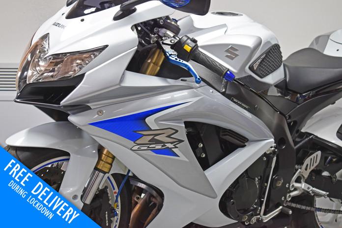 Used Suzuki GSXR600 K8 White for sale northampton bike sanctuary front headlights.jpg