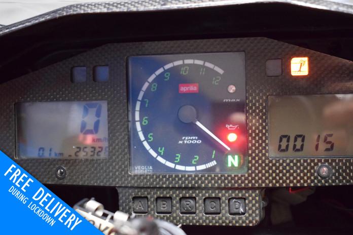 Used Aprilia SL1000R Falco for sale Northampton Bike Sanctuary Clocks Dash.jpg