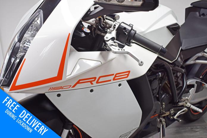 Used KTM RC8 1190 for sale northampton bike sanctuary front left close.jpg