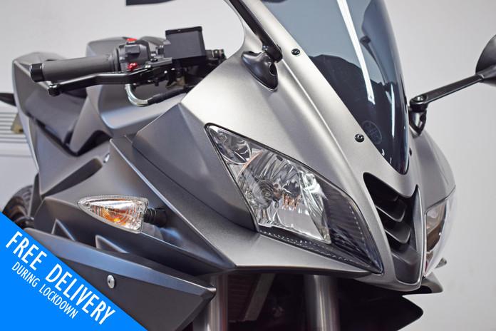Used Yamaha R125 for sale northampton bike sanctuary front fairing.jpg