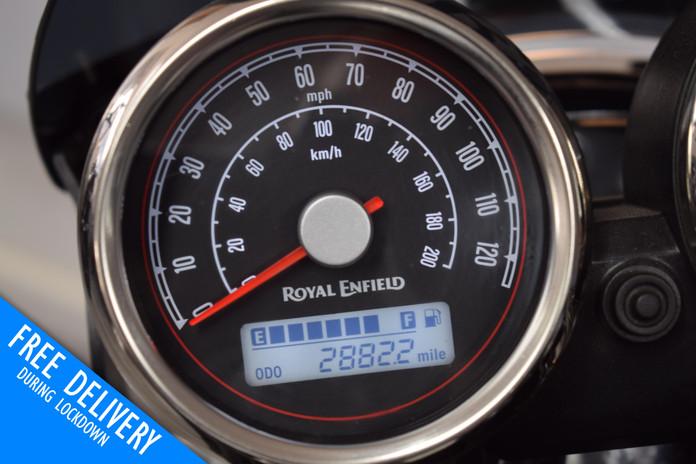 Used Royal Enfield Interceptor for sale Northampton Bike Sanctuary clocks.jpg