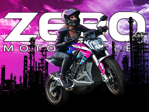 Zero SRF Electric Motorcycle Test
