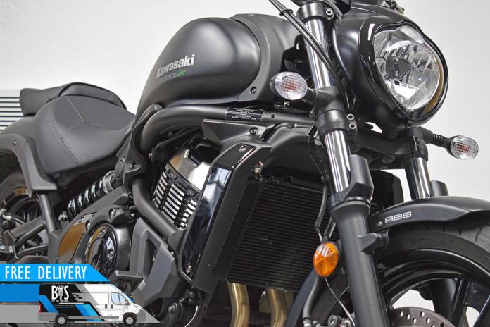 Used Kawasaki VN650 Vulcan for sale northampton bike sanctuary front right close.jpg