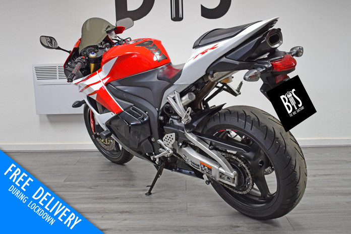 Used Honda CBR600RR for sale Northampton Bike Sanctuary left rear 2.jpg