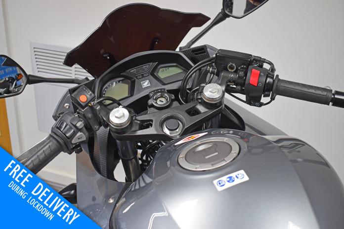 Used Honda CBR650F for sale northampton bike sanctuary clocks tank.jpg