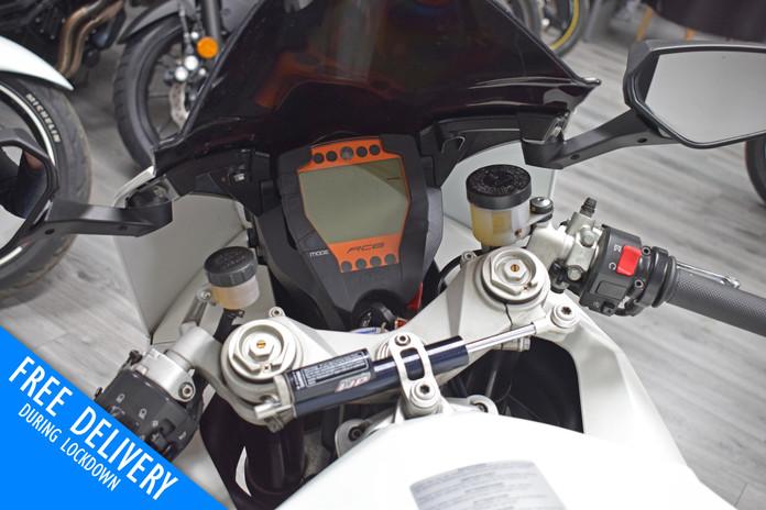 Used KTM RC8 1190 for sale northampton bike sanctuary clocks tank.jpg