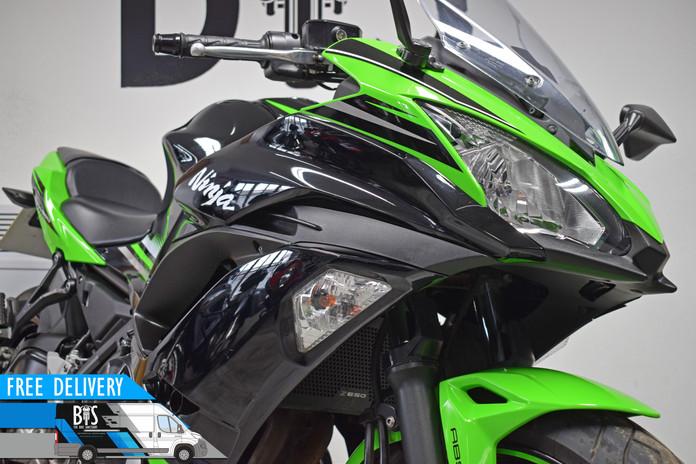 Used Kawasaki Ninja 650 ABS for sale northampton bike sanctuary front headlights.jpg