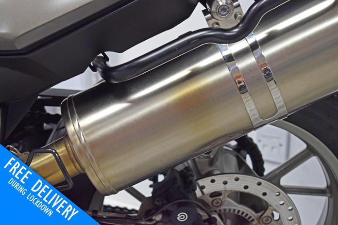 Used BMW F700 GS for sale northampton bike sanctuary exhausts 2.jpg