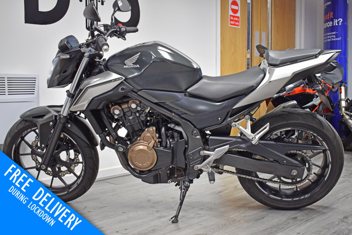 Used Honda CB500F Naked for sale Northampton Bike Sanctuary left side.jpg
