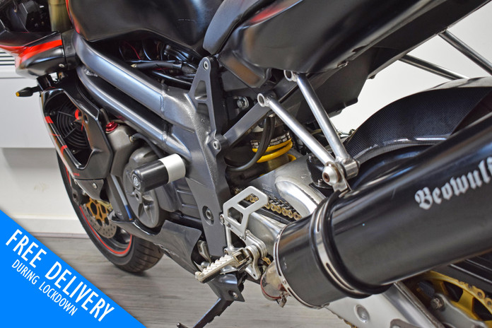 Used Aprilia SL1000R Falco for sale Northampton Bike Sanctuary left srear close.jpg