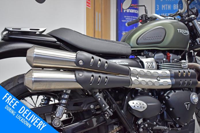 Used Triumph Street Scrambler 900 for sale northampton bike sanctuary exhausts.jpg