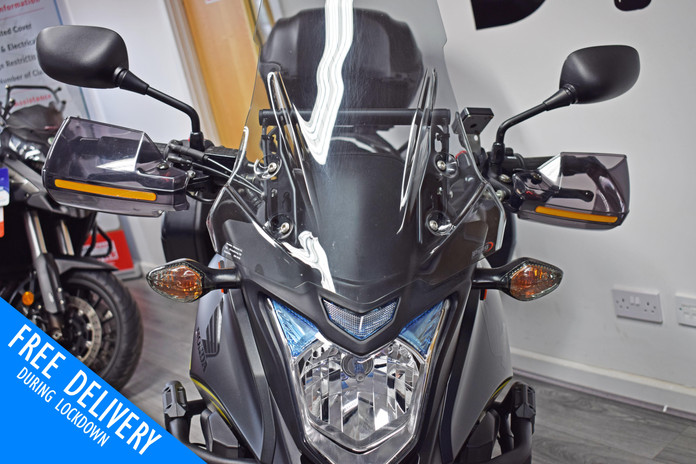 Used Honda CB500X Crosstourer for sale northampton bike sanctuary headlight.jpg