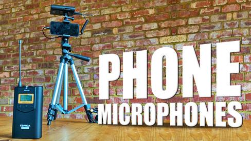 COMICA Wirelss Mcrophones for iphone vlo