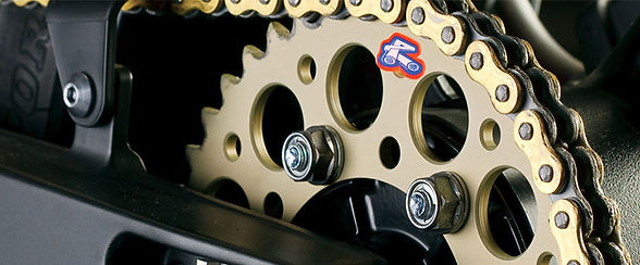 renthal chain and sprokets the bike sanc