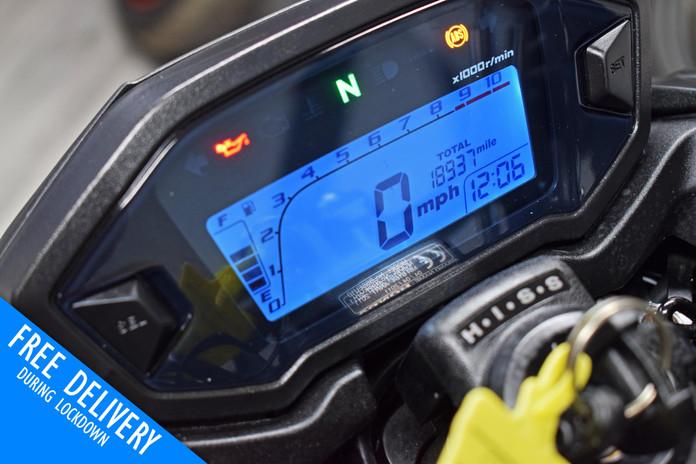 Used Honda CB500F Naked for sale Northampton Bike Sanctuary dash clocks.jpg